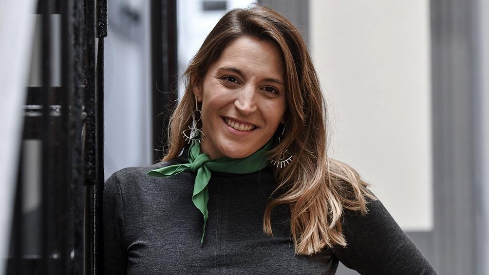Manuela Castañeiras encabeza la lista de diputados del Nuevo Mas por provincia de Buenos Aires.