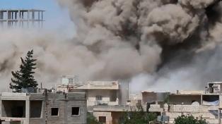 EEUU confirmó un bombardeo en el norte de Siria contra líderes yihadistas