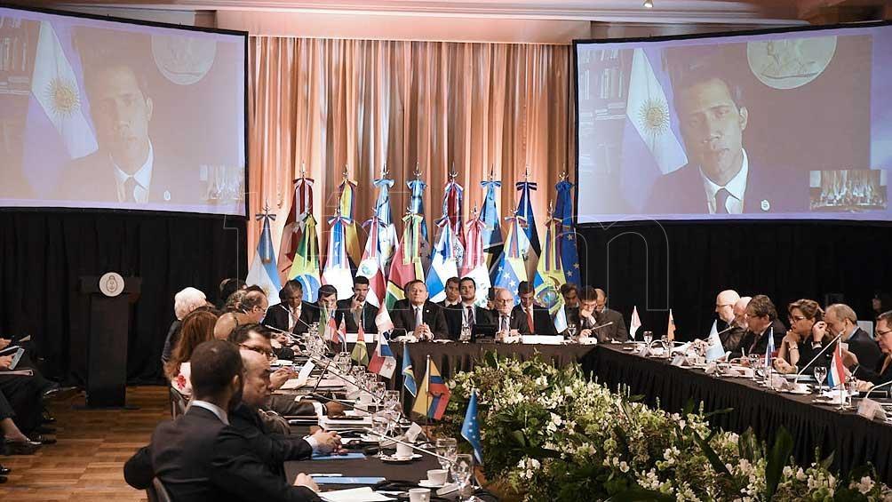 Durante el gobienro de Macri Argentina tuvo una alta participación en el Grupo Lima.