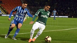Godoy Cruz va por la hazaña ante Palmeiras en Brasil