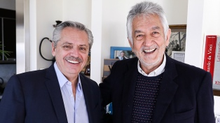 Fernández se reunió con los gobernadores Rodríguez Saá y Bordet