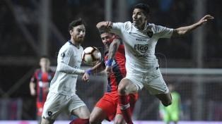 San Lorenzo igualó ante Cerro Porteño por la ida de los octavos