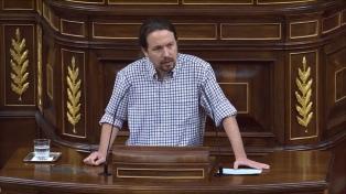 Pablo Iglesias criticó a la normalidad democrática española y exigen su destitución
