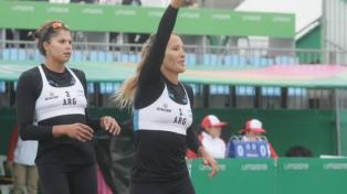 Segundo triunfo de Gallay y Pereyra en el vóleibol de playa de Lima 2019