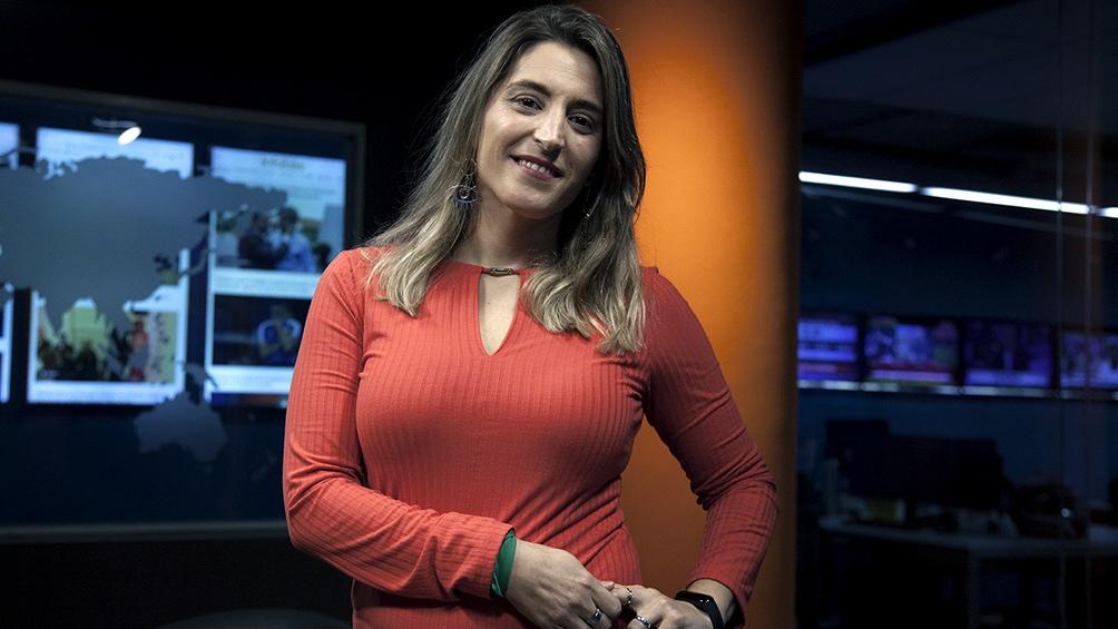 Manuela Castañeira, dirigente de el Nuevo MAS.