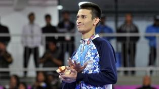 Guzmán ganó el de oro en taekwondo en la categoría de hasta 58 kilos