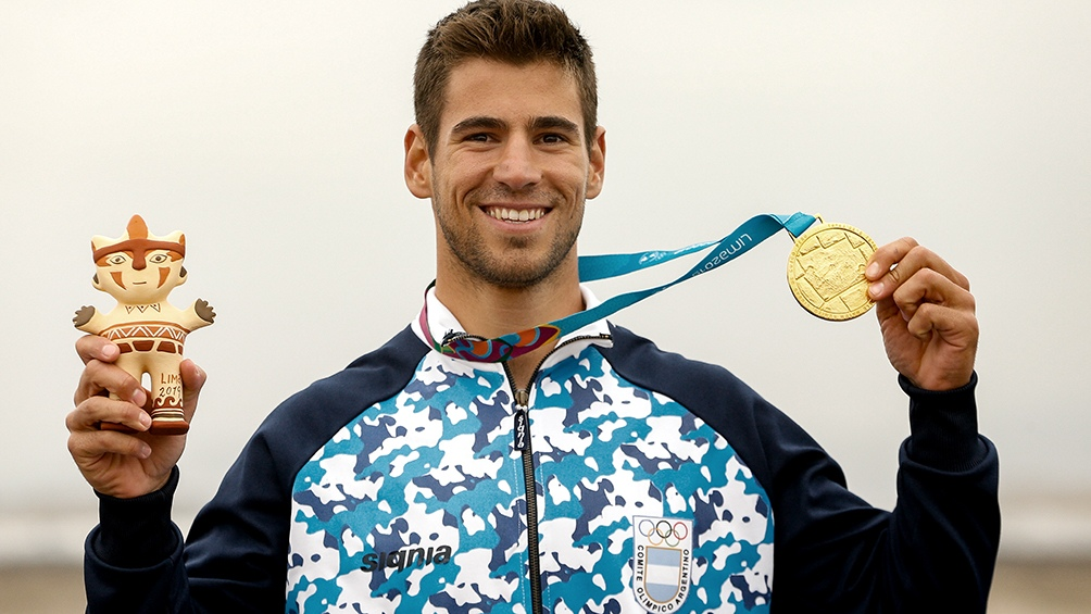 Vernice ganó dos medallas de oro en los últimos Juegos Panamericanos de Lima, Perú, 2019.