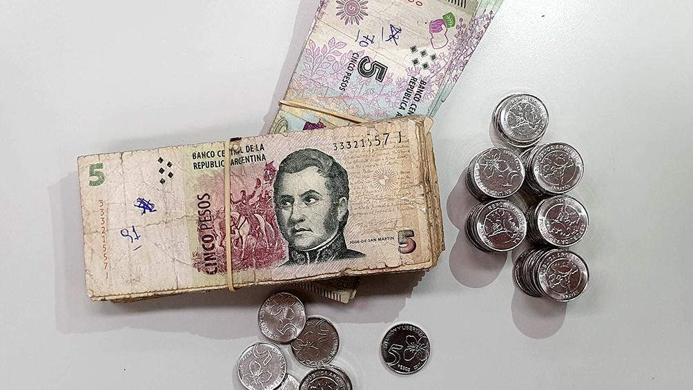 Último día para utilizar los billetes de 5 pesos