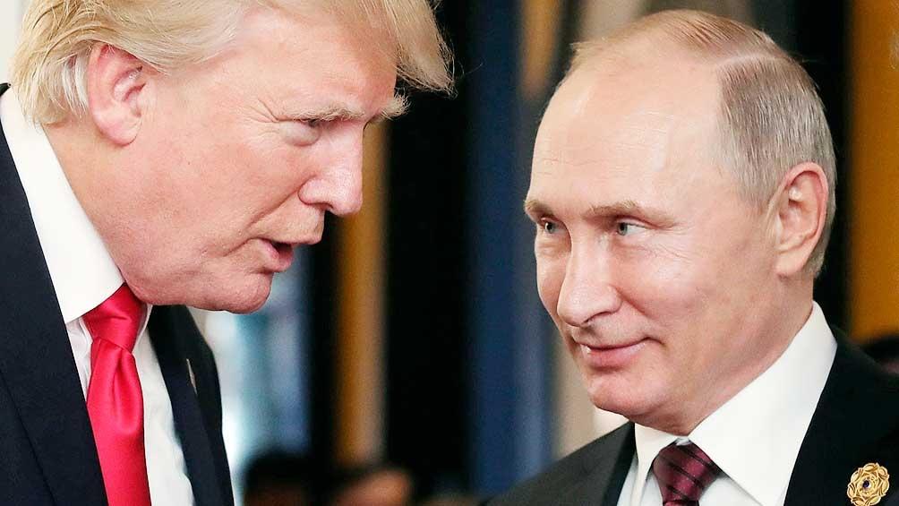 Durante su primer encuentro, Vladimir Putin y Donald Trump acordaron un cese al fuego parcial en Siria.