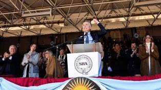 """Macri pidió a los argentinos """"fortalecer la transformación"""" del país en las elecciones"""
