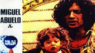 Editan por primera vez en el país disco de culto que grabó Miguel Abuelo en Francia en los 70