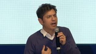 Kicillof apuntaló la candidatura de Lucas Ghi en Morón