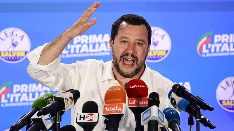 Salvini empezó a ser juzgado por dejar migrantes varados en el mar
