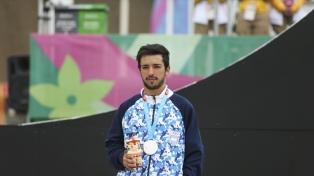 El ciclista José Torres ganó la medalla de plata en BMX masculino