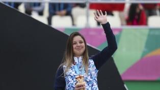 La ciclista Agustina Roth conquistó la centésima medalla para Argentina