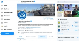 Hackearon la cuenta de Twitter de la Prefectura y los datos secretos de la policía