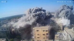 EEUU atacó instalaciones de �milicias apoyadas por Irán� en Siria