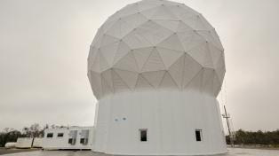 """El """"faro del fin del mundo"""" para el monitoreo de satélites ya funciona """"a pleno"""""""