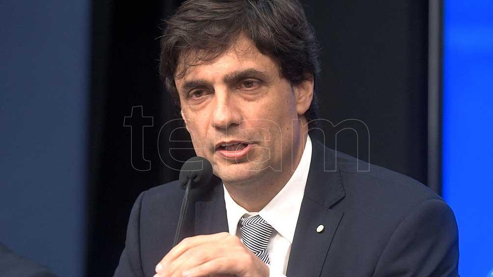 Lacunza habla sobre la situación económica en el cierre de la reunión del IAEF