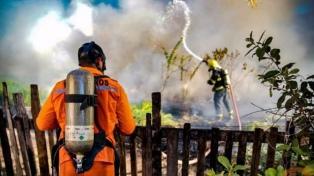 Infantes de Marina fueron convocados para colaborar en los incendios en Amazonia