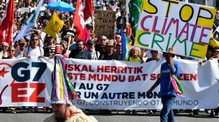 Amnistía Internacional criticó la represión a las protestas durante el G7
