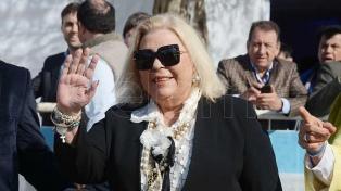 Tras 26 años, Carrió se retira de la vida política y dará clases sobre humanismo