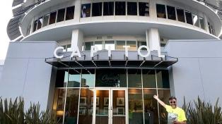 Fito Páez inició la grabación de su nuevo disco en el mítico Capitol Studios