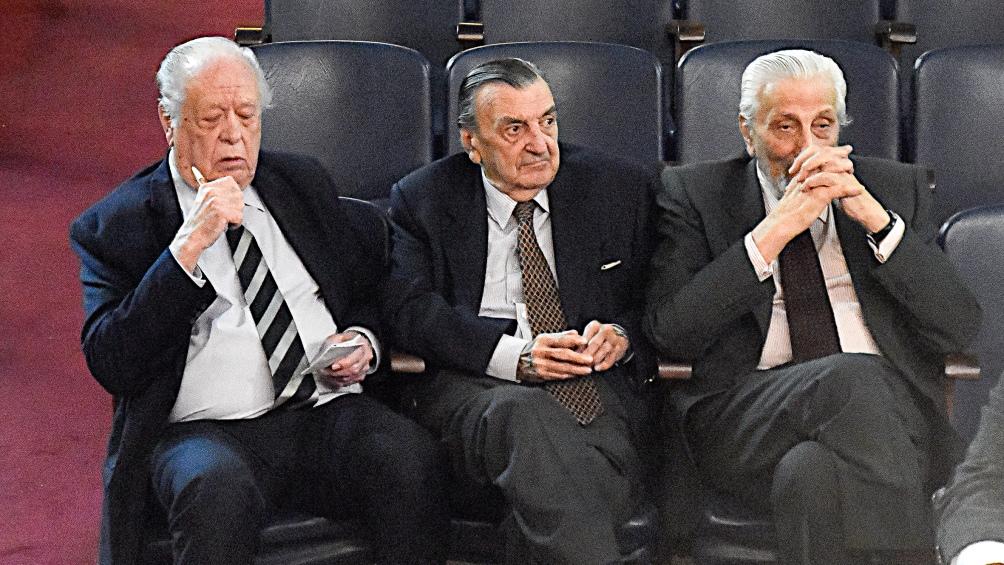 Algunos de los represores juzgados en un proceso realizado en Bahía Blanca.