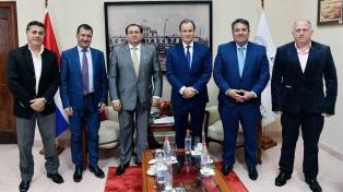 Bordet propuso crear un sistema de puertos integrado con Paraguay