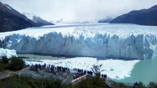 Un informe oficial fija en casi 8.500 km cuadrados la superficie de glaciares en la Argentina