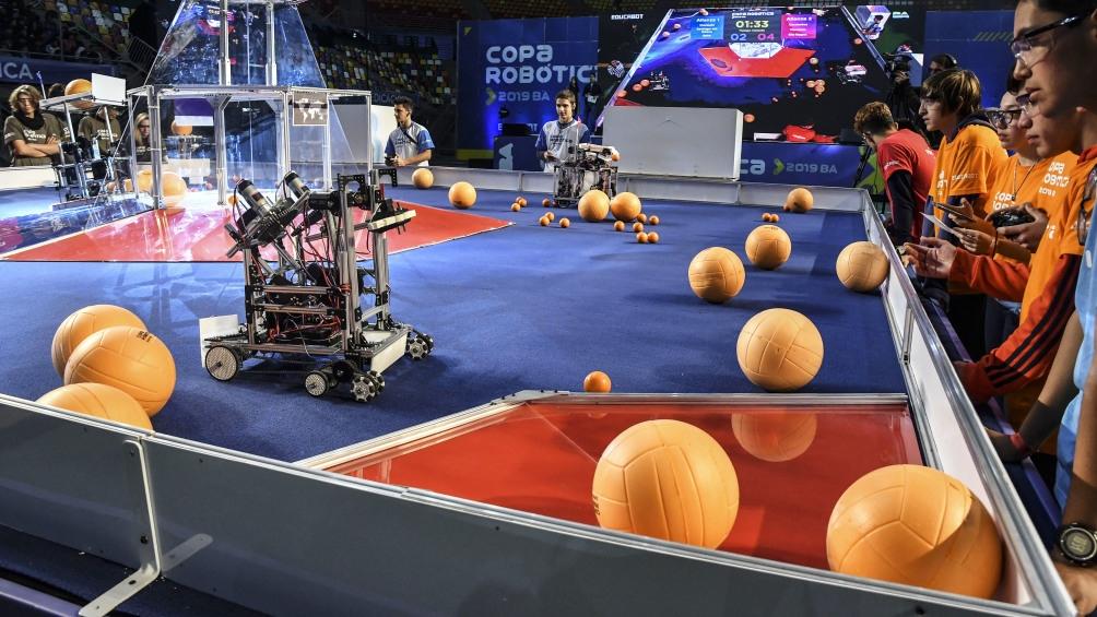 Estudiantes de todo el país competirán para ir al Mundial de Robótica