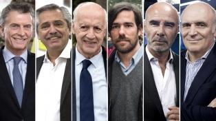 Los candidatos presidenciales listos para el debate con distintas estrategias