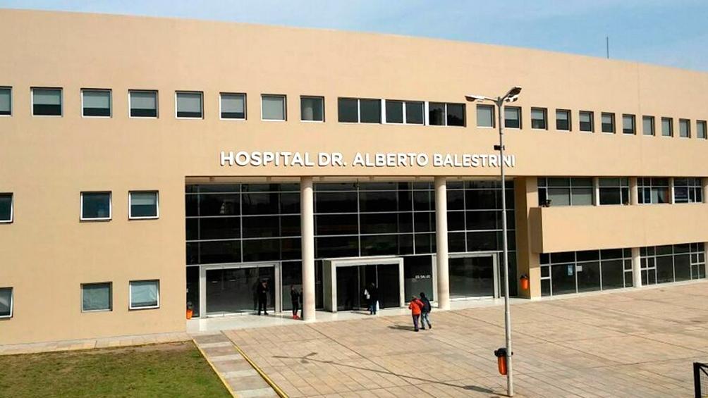 El Hospital Balestrini, donde falleció Jorge García (58).