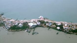 Critican al gobierno de Bahamas por la lentitud en los rescates tras el huracán Dorian