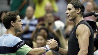 Schwartzman batalló ante Nadal, pero no logró llegar a la semifinal