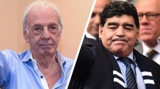 """Menotti: """"Diego no existe en ningún otro mundo que no sea una cancha"""""""