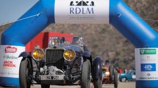 Un Fiat del año 1928 se impuso en la primera etapa del Rally de la Montaña