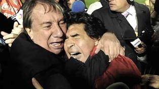 """""""Te bancaste todo, Carlos"""", expresó Maradona a Bilardo por su cumpleaños"""