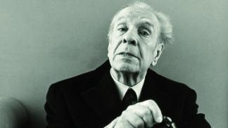 El universal Jorge Luis Borges.