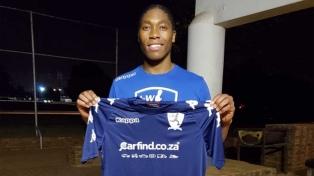 Una bicampeona olímpica de atletismo, nueva futbolista en Sudáfrica
