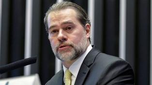El presidente de la Corte brasileña presenta síntomas de infección con coronavirus