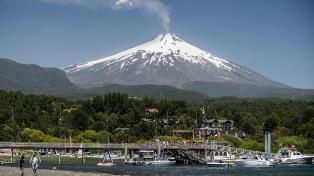 Decretan alerta naranja por el volcán Villarrica