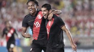 Brasil perdió ante el Perú de Ricardo Gareca en Los Ángeles