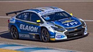El Chevrolet de Agustín, subcampeón vigente del Super TC 2000.