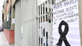 En cinco provincias no habrá clases mañana por medidas de fuerza de los gremios docentes