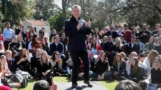 """Macri destacó los avances de la Argentina frente a los """"desafíos del cambio climático"""""""