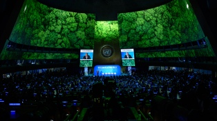 Argentina pidió el compromiso de grandes países emisores para luchar contra el cambio climático