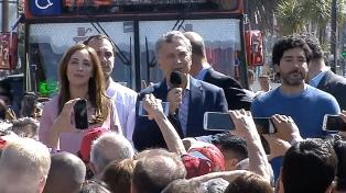 """Macri: �Tengo todas las ganas de que sigamos juntos construyendo la Argentina que nos merecemos"""""""