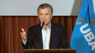 """Macri: """"El futuro lo vamos a construir integrados al mundo, y no aislados"""""""