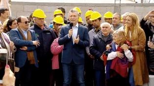 """Macri: """"Nosotros somos parte de la solución, no del problema"""""""